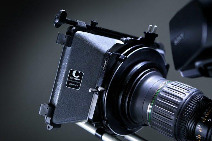 Chrosziel 15 mm Rail Mount or Clip On 2 Stage B4 Lens Matte Box