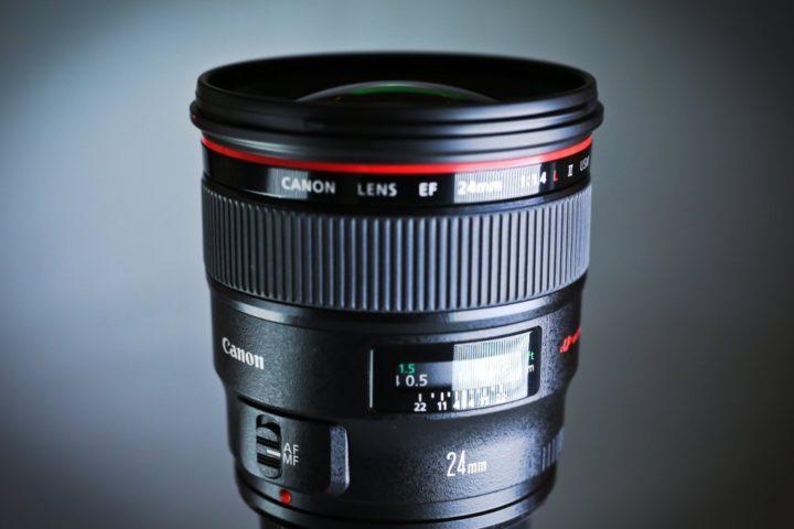 CANON EF 24mm 1.4 L series prime