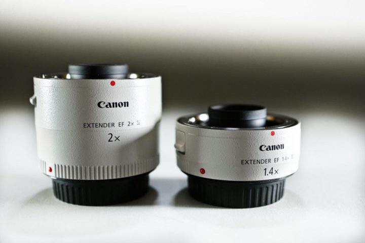 Canon 2x 1.4x Extenders
