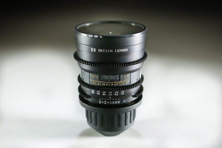 Duclos 11-16 2.8 Pl zoom lens