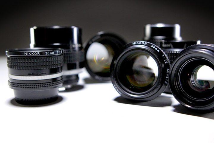 Nikon primes lens set