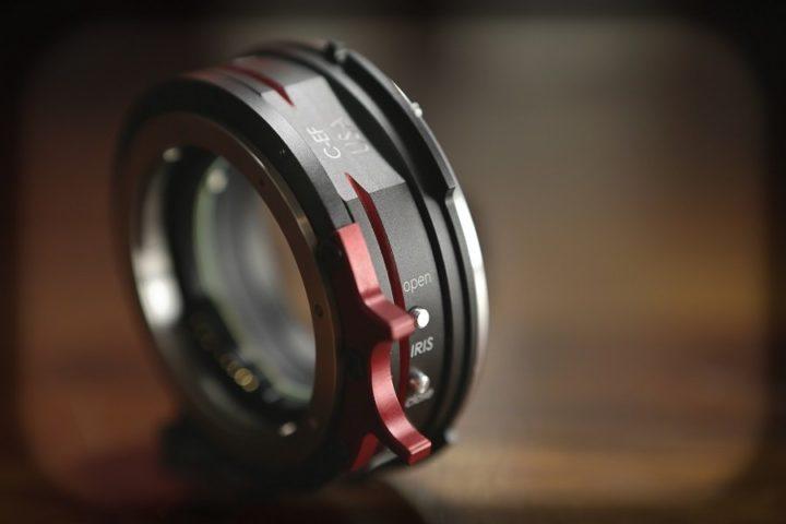 Optitek EF to Sony FZ adaptor
