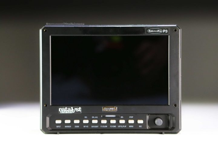 Oxygen DCT Evolution P3 7″ recording monitor