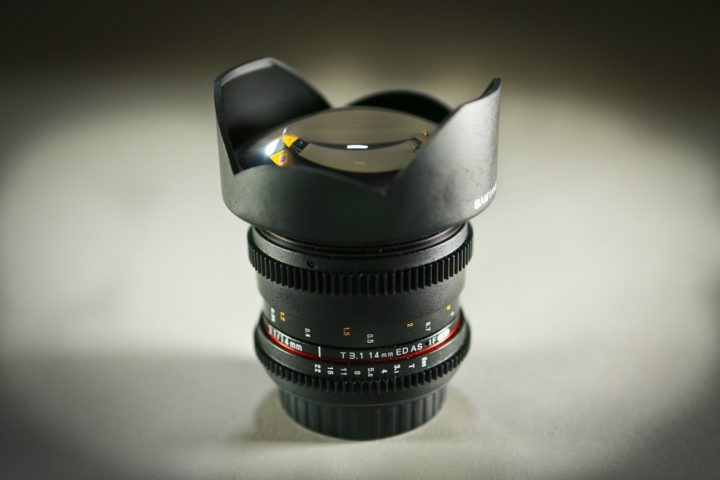 Samyang 14mm EF 3.1 prime