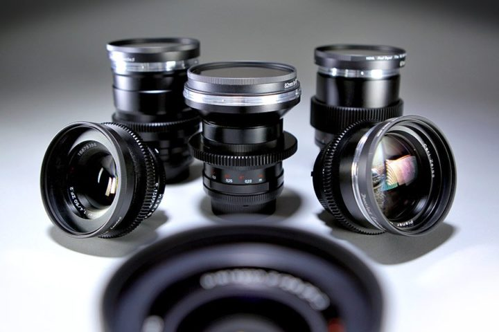 Zeiss ZF Prime Lens Set with Cine Mod