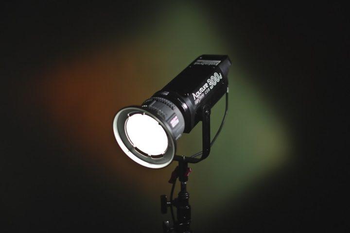 Aputure 300d Daylight LED / super light & bright!