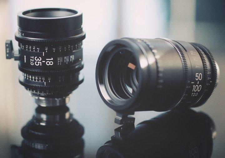 Sigma 18-35 & 50-100 T2.0 Zoom lenses