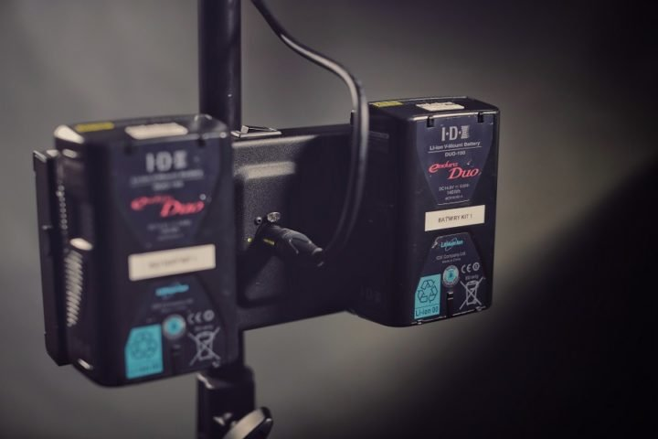 Litepanels Gemini battery adaptor