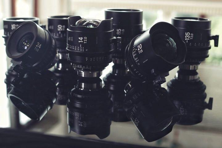 Sigma Cine prime lenses